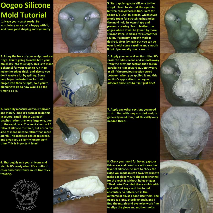 Oogoo Silicone Mold Tutorial by fenrirschild