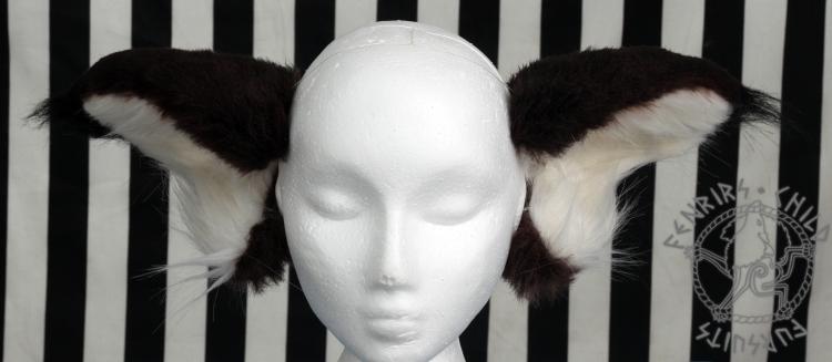 Unkyo ears front by fenrirschild