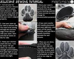 Silicone sewing tutorial by fenrirschild