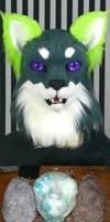 Feline head base molds for auction