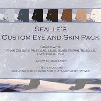 Sealle's Tokota Design: Normal Eye/Skin Pack by sealle