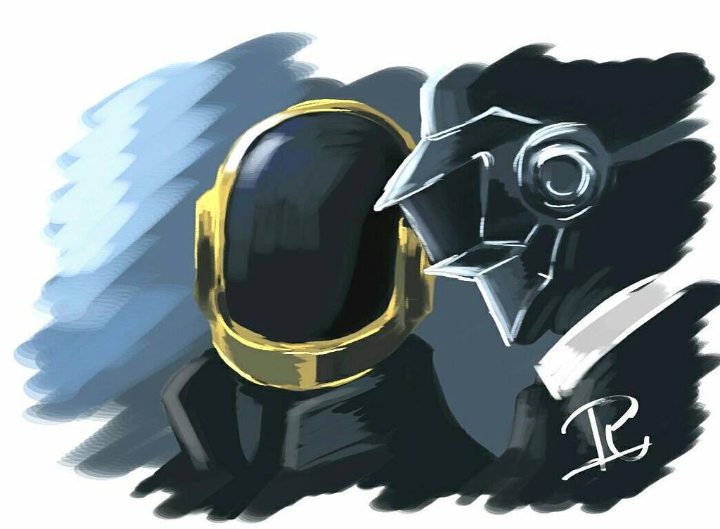Daft Punk  by Oklap
