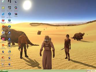 My Desktop by Sta-r-obin