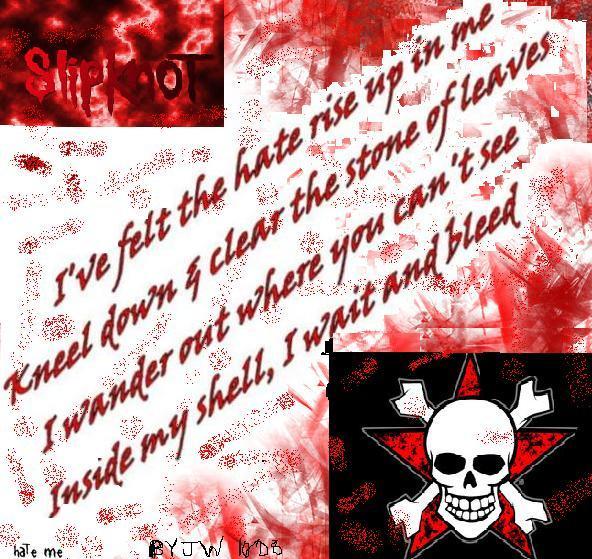 Slipknot Wait and Bleed by Potterfan77 on DeviantArt