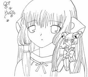 Chi and Kotoko by hack-sign64