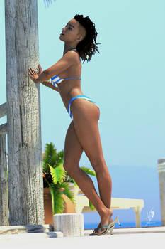 Sharon T - Tropical Goddess