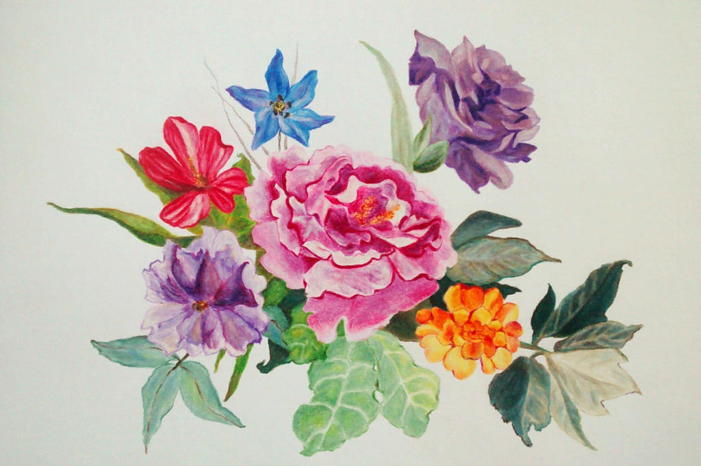 Flowers 1 by burilka