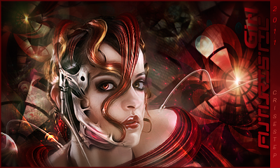 Futuristic Girl by CrisestepArt