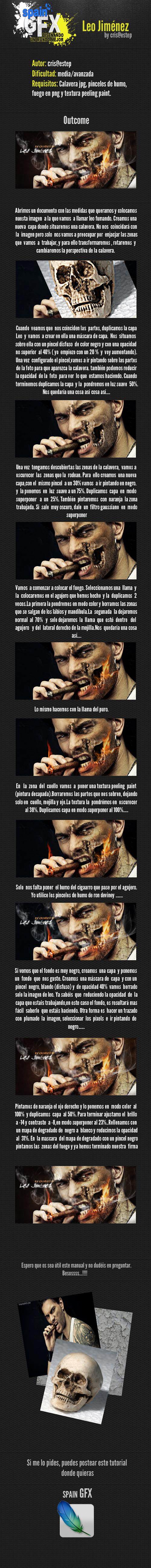 Tutorial Leo Jimenez by CrisestepArt