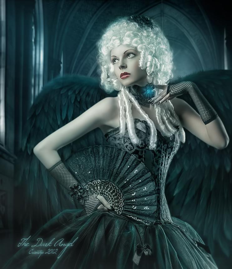 The Dark Angel by CrisestepArt