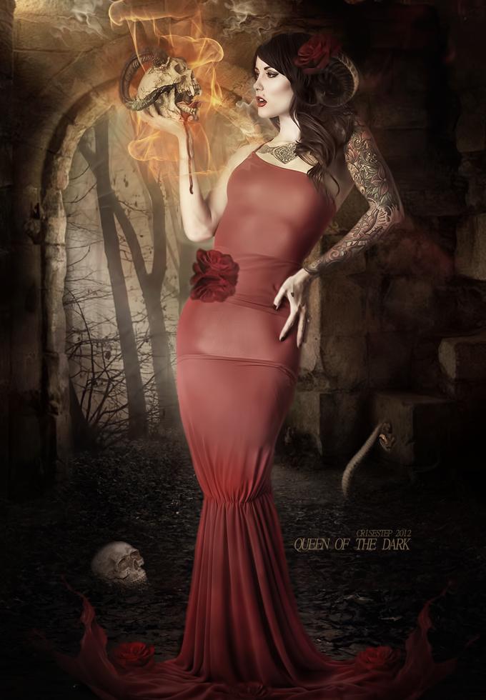 Queen of the Dark by CrisestepArt