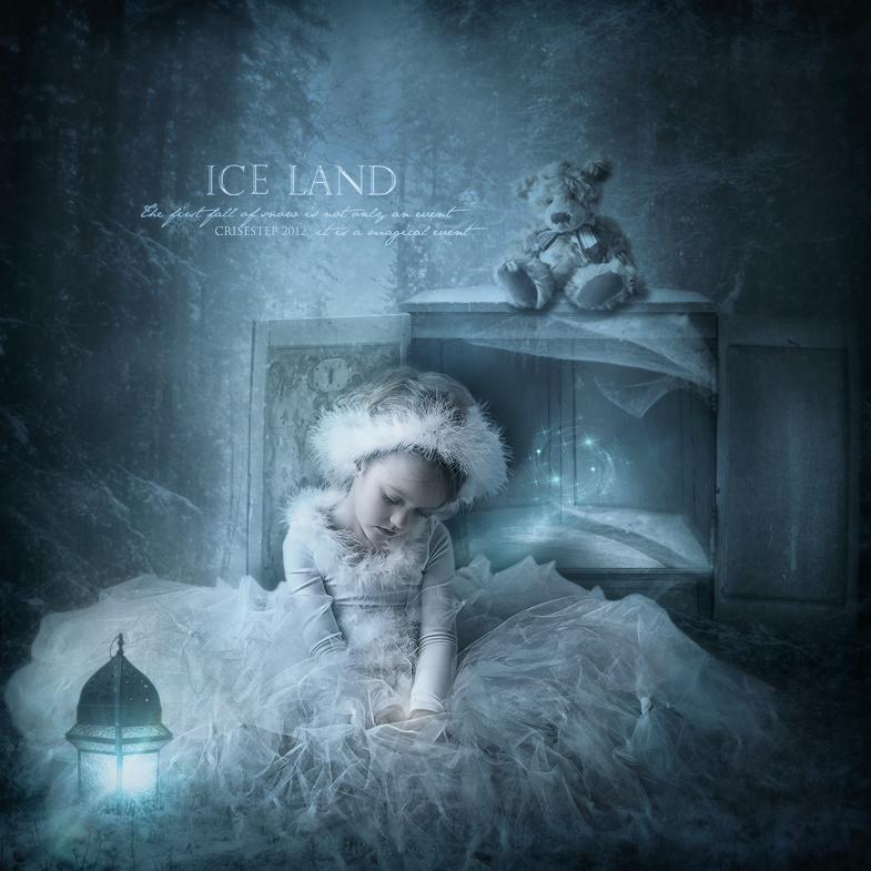 Ice land by CrisestepArt
