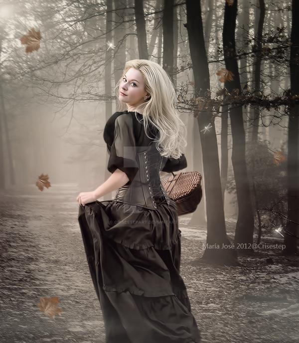 Autumn walk by CrisestepArt