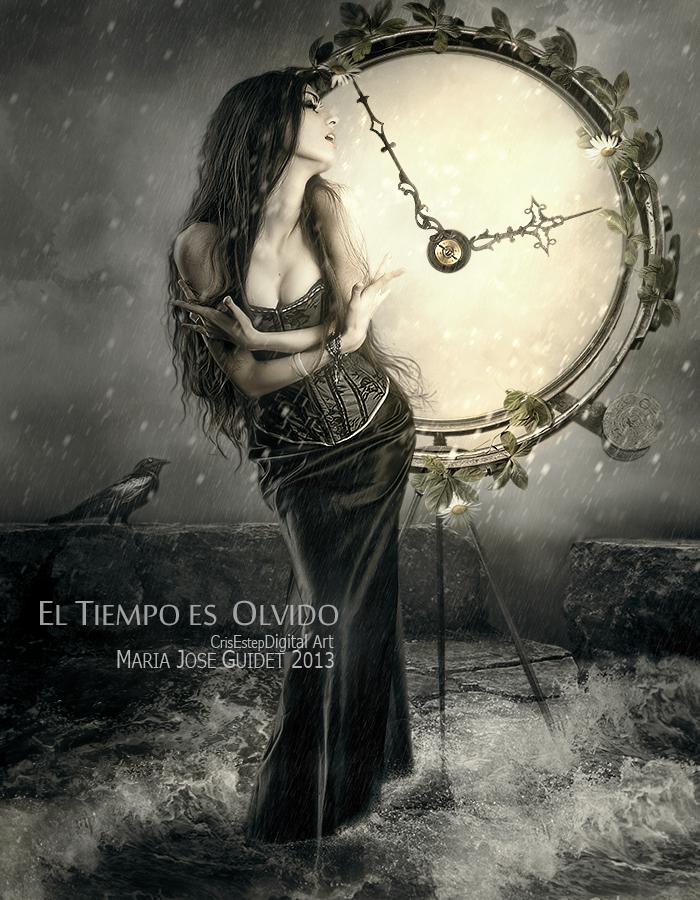 El tiempo es olvido by CrisestepArt