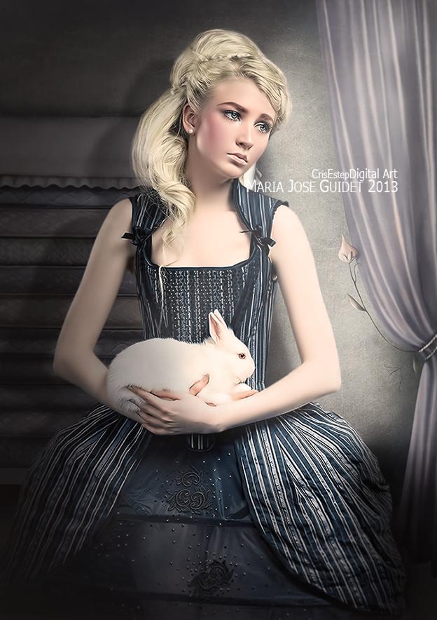 Grey Princess by CrisestepArt