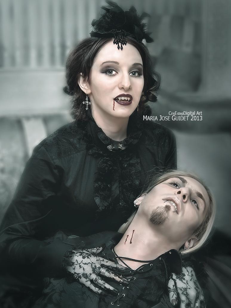 Vampire's Kiss by CrisestepArt