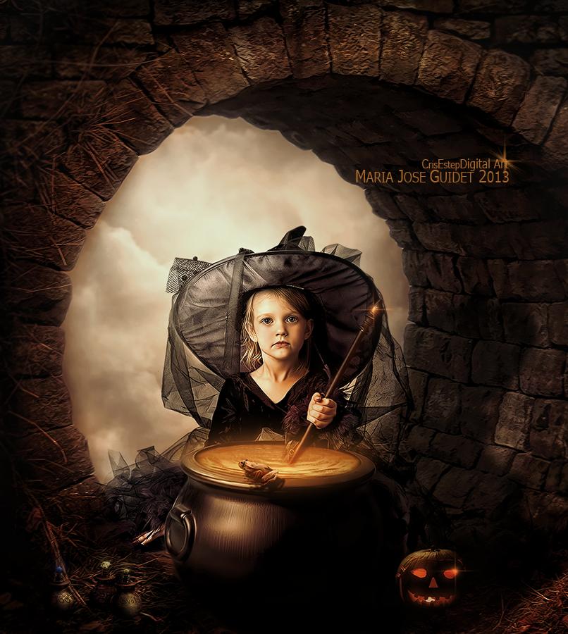 Happy Halloween by CrisestepArt