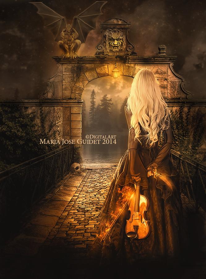 En las puertas del infierno by CrisestepArt