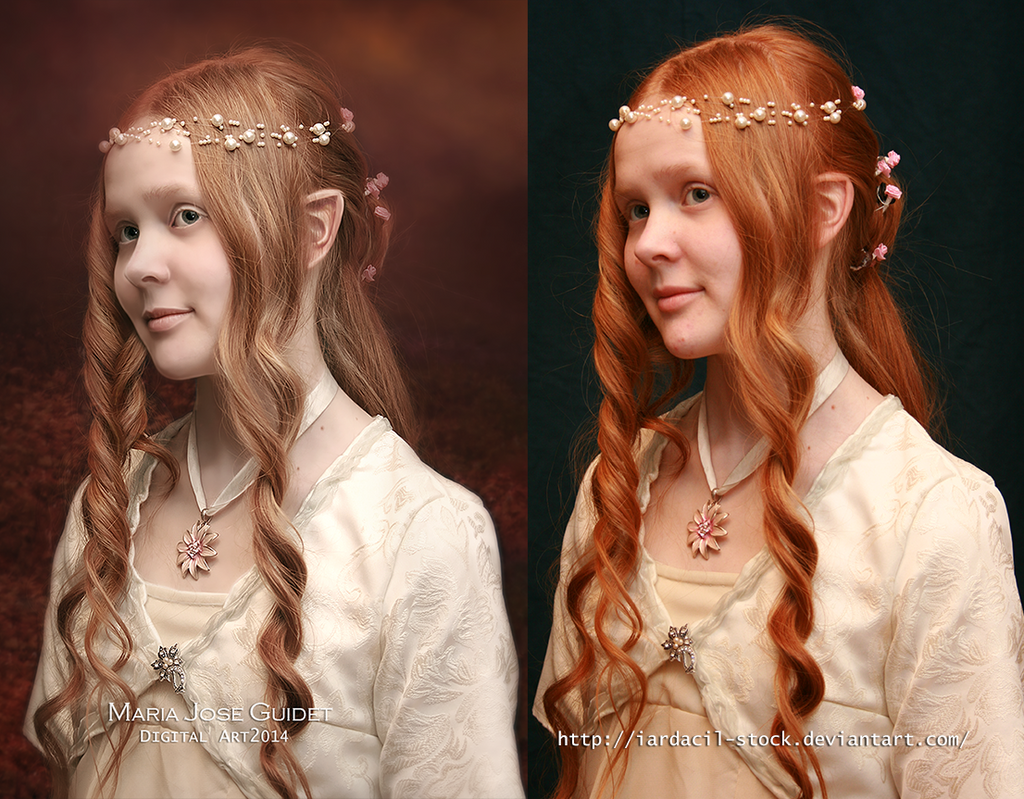 Before/after  My little Fairy by CrisestepArt
