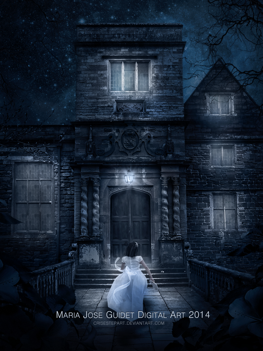 La mansion encantada by CrisestepArt