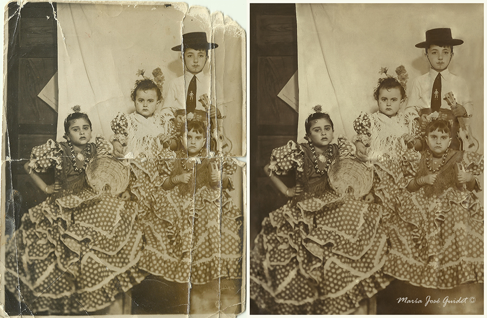 Photo restoration by CrisestepArt