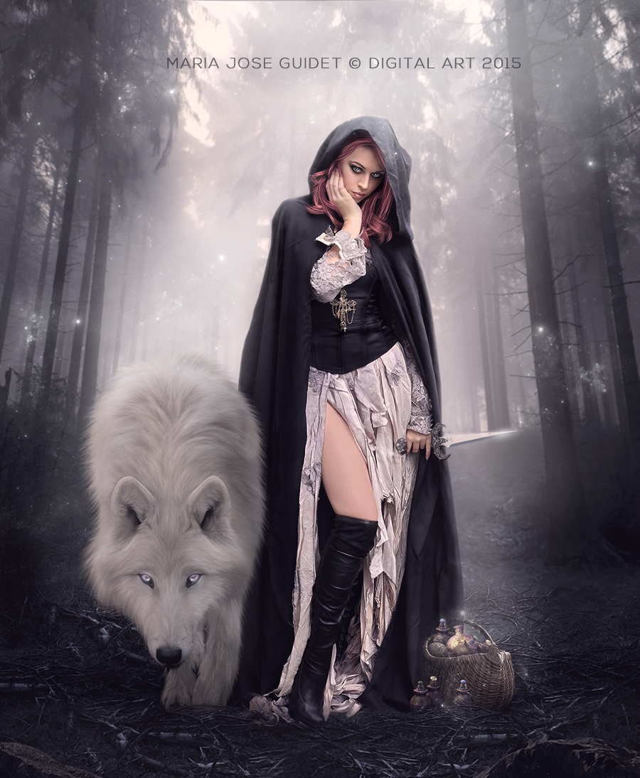 Dark Riding Hood by CrisestepArt