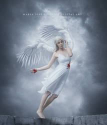 Angel herido.