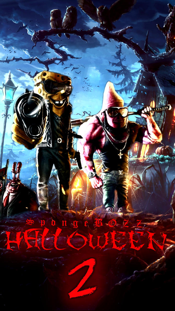 SpongeBOZZ-Halloween 2 by BBMArtistry on DeviantArt