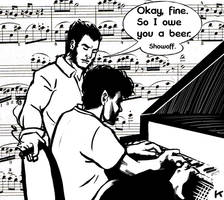 Piano by konijnemans