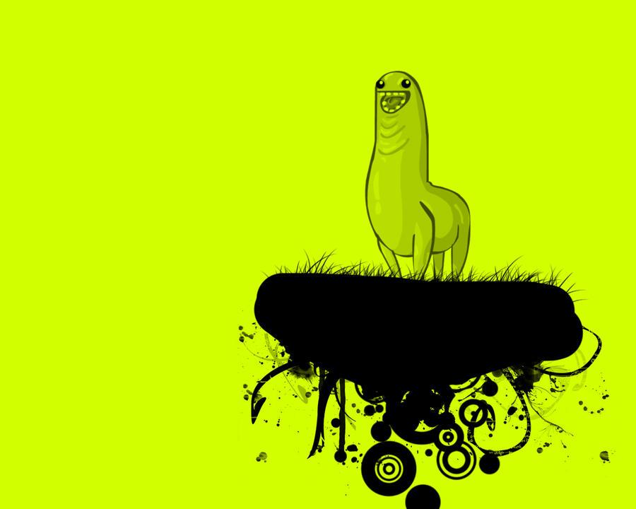 Green Lama by Vreckovka
