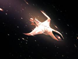 Spaceship by Vreckovka