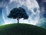 Tree at fantasy planet