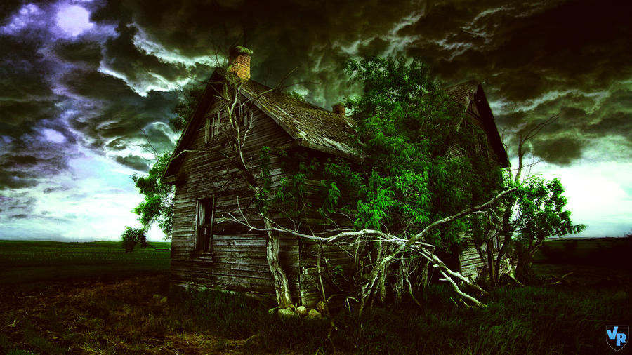 House in storm by Vreckovka