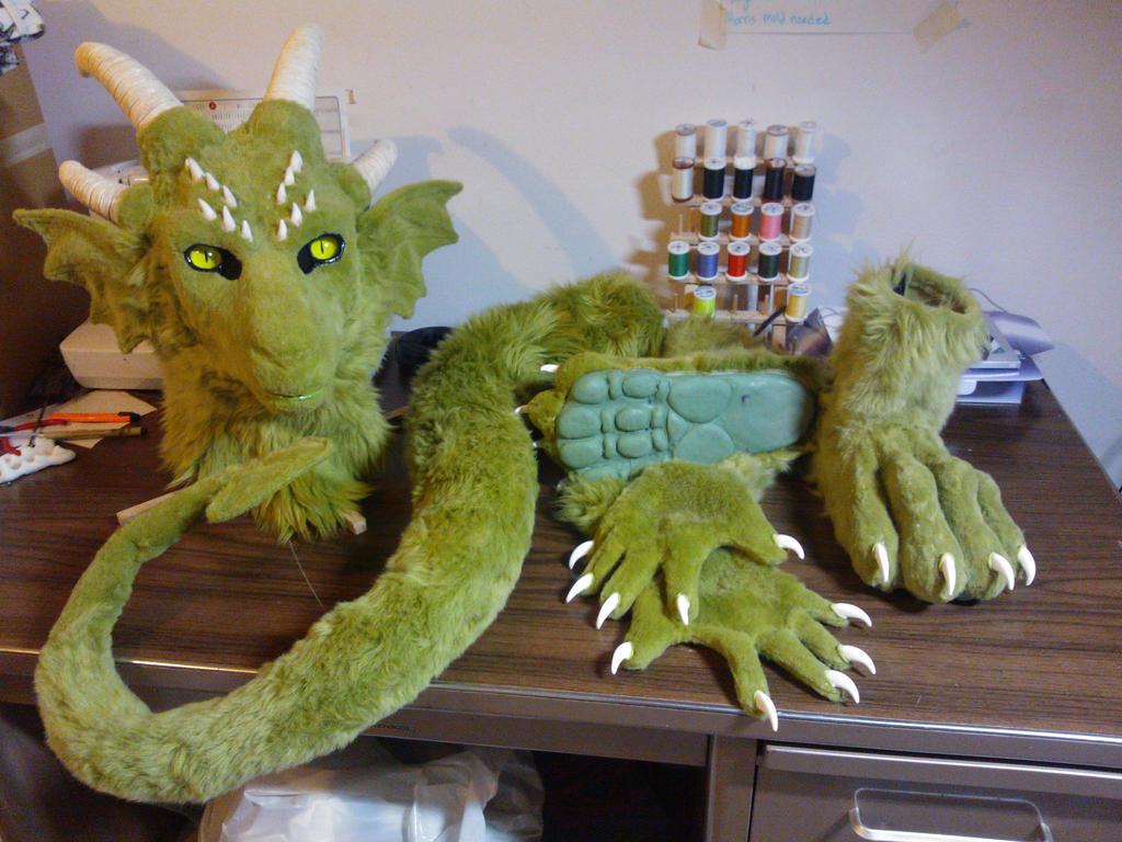 Dragon wip by Eddie-Ka