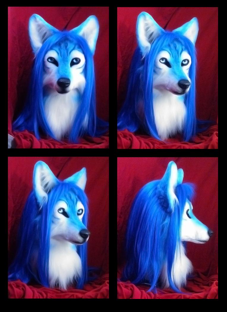 Suntattoowolf head by Eddie-Ka