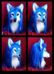 Suntattoowolf head
