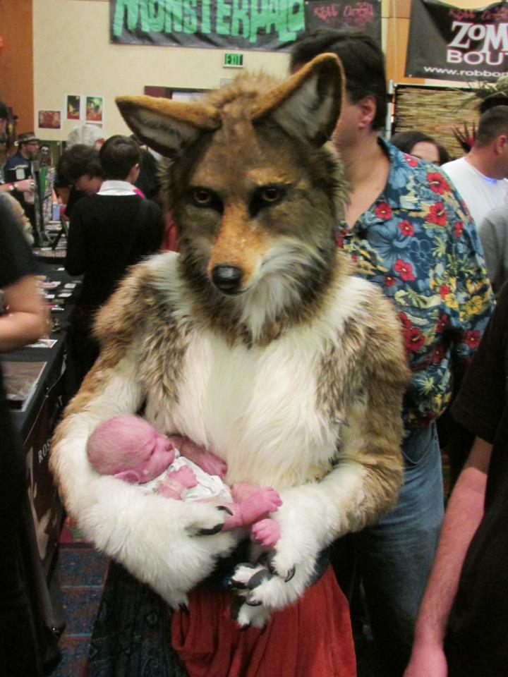 Coyote Mother by Eddie-Ka