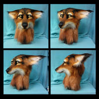 Mystic Canine Head AUCTION by FeralFacade