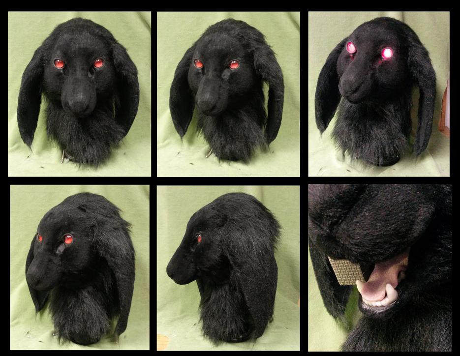 Evil Black Bunny by Eddie-Ka