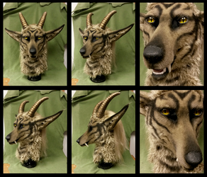 Gold horn beast updated FORSALE by FeralFacade
