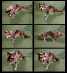 Ooak Wolf art doll by FeralFacade