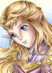 ACEO: Princess of Hyrule