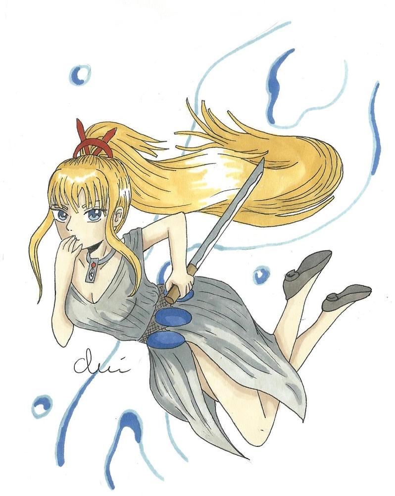 Miyuki by clairetiger