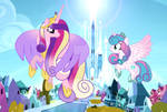 MLP (Next Gen) Flying With Mom