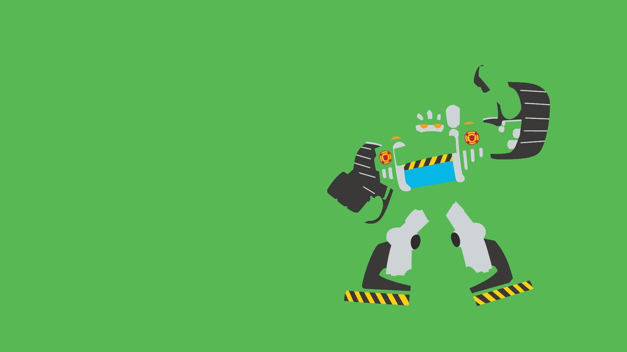 ... Transformers Rescue Bots   Boulder Minimalist By Xagnel95
