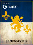 House Quebec - Game of Thrones style sigil