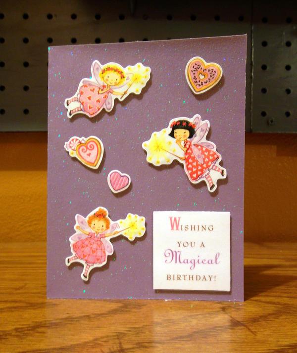Magical Fairies Birthday Card by CelidahD