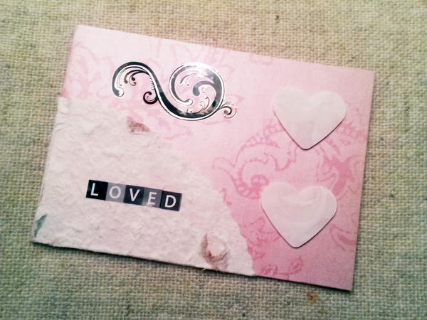 LOVED Valentine's Day Card by CelidahD