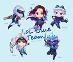 Blue team !