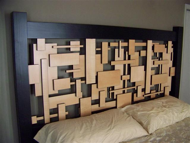 Art Deco headboard by walshdigital ...